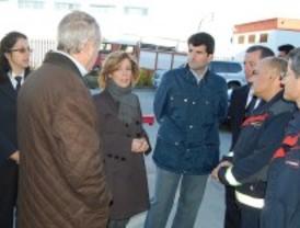 4.700 bomberos y sanitarios velan por la seguridad de los madrileños durante las fiestas de Navidad