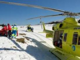 Una montañera muerta y dos heridos en la Sierra de Guadarrama