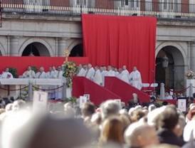Madrid celebra la fiesta de su Patrona con la tradicional procesión y la eucaristía