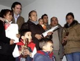 La familia de Diego Estacio ya tiene casa en La Ventilla