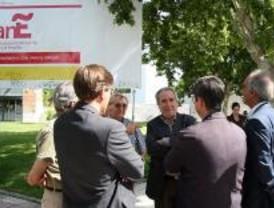Nuevo 'ecoparking' en Alcorcón con árboles y zonas verdes