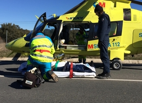 Un motorista atropella a un ciclista en Galapagar