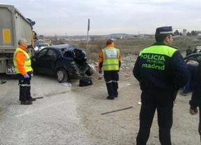 Muy grave tras colisionar con un camión en Valdemingómez