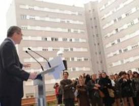 Dos centenares de familias estrenan piso en el Ensanche de Vallecas