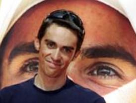 Madrid y Pinto celebran con Alberto Contador su triunfo en el Tour de Francia