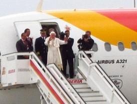 Benedicto XVI abandona Madrid
