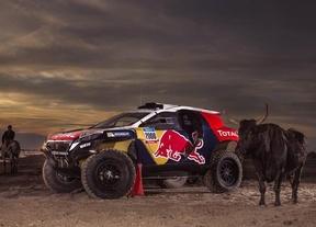 El Peugeot de Carlos Sainz, listo para el Dakar