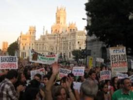 Desahucio entre protestas en Torrejón