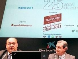 El transporte celebra sus 25 años de coordinación