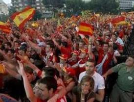 69 personas heridas leves en la fiesta en Madrid por el partido de la Selección
