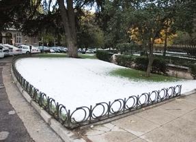 Caen en Madrid los primeros copos de nieve