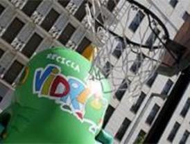 Cada madrileño recicló en 2006 unos 13 kilos de vidrio