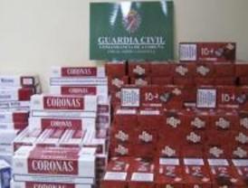 Cae en España la mayor red de contrabando de tabaco y objetos falsificados