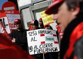 Los trabajadores de Coca-Cola marchan de nuevo hasta la Puerta del Sol en contra del ERE