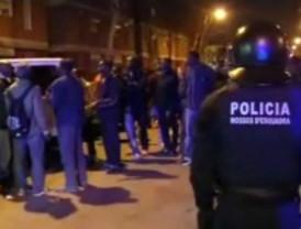 El asesinato de un senegalés provoca disturbios en el barrio del Bessós de Barcelona