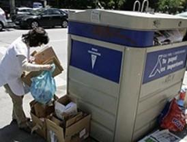 Casi 5 millones de toneladas de papel y cartón se podrán reutilizar