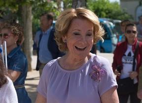 Aguirre recurre la admisión de la querella de Podemos