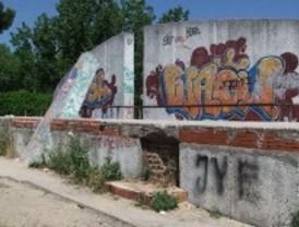 IU denuncia el abandono del parque de Plata y Castañar