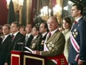 El Rey recuerda a las víctimas del terrorismo en la celebración de la Pascua Militar