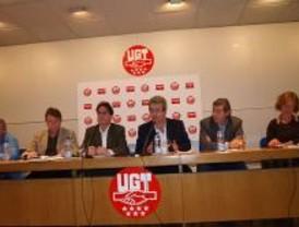 UGT y CCOO acusan a Aguirre de paralizar el diálogo social