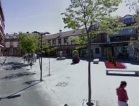 Cortes de tráfico este lunes en el entorno de la plaza de los Cuatro Caños de Villalba