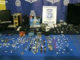 Detenidas ocho personas por robos en domicilios