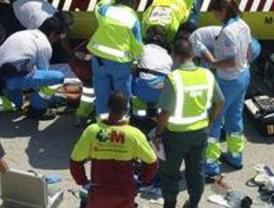 Un herido grave y tres leves en un accidente de tráfico en la M-501