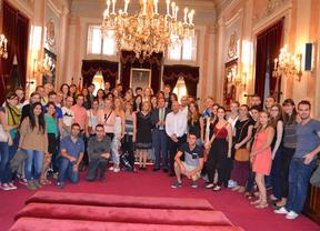 Erasmus y embajadores de Alcalá