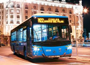 Cómo moverse en autobús por Madrid en Navidad
