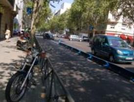 Heridas tres personas que esperaban el autobús en Serrano tras ser atropelladas