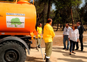 El programa de extinción de incendios incluye Casa de Campo, Valdebebas y Tres Cantos