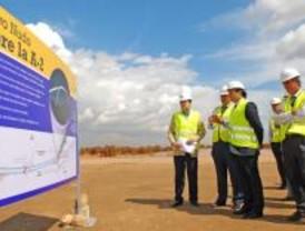 Obras para un nuevo acceso en la A-2 de Torrejón de Ardoz