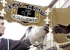 Comienza el mercado cervantino en Alcalá de Henares