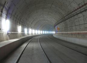 Adif ralentiza las obras del tercer túnel de la risa