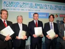 Madrid suscribe un Plan contra la desaceleración económica