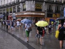 Las lluvias y el fuerte viento barrerán la Comunidad de Madrid este fin de semana