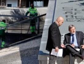 Lissavetzky denuncia la limpieza 'expres' de Lavapiés ante la visita del PSOE al barrio
