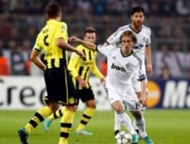 El Madrid se diluye en Dortmund