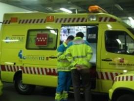 Herido grave un conductor al golpearse la mano con el quitamiedos y perder el control de su coche