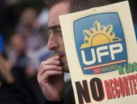Cientos de policías exigen a Interior mejoras salariales