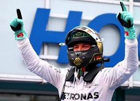 Rosberg gana en casa e inmensa remontada de Hamilton