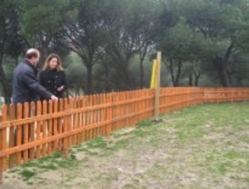 Pozuelo estrena una nueva área canina en el entorno de Cerro de los Perdigones