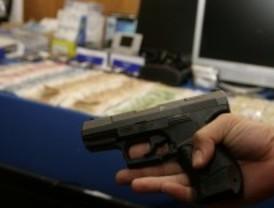 Detenidos los 7 miembros de una banda de atracadores que usaba armas de fuego