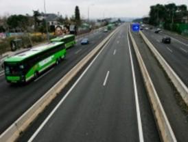Las empresas de autobuses exigen vías bus-VAO