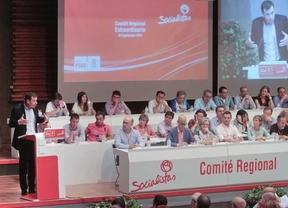 Tomás Goméz interviene en el Comité regional del PSM