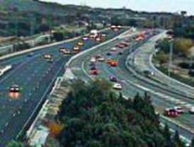 Iberpistas espera tráfico lento en la A-6 hasta el domingo