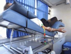 Maratón de donación de sangre en Vallecas
