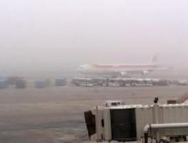 Retrasos en Barajas por la niebla