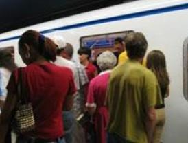 Los usuarios de Metro bajan un 7,1% en la Comunidad en octubre