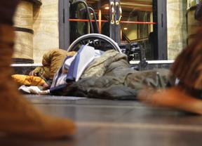Este lunes por la noche comienza la Campaña del Frío para 'sin techo'